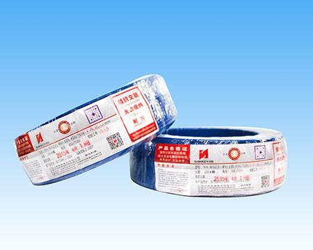 NH-WDZ-BYJ(F)辐照铜芯耐热105°C无卤低烟阻燃交联聚烯烃绝缘耐火电缆