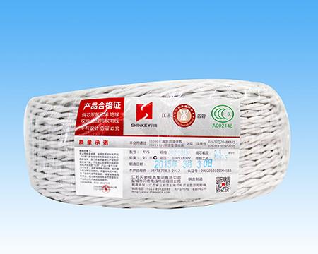 铜芯聚氯乙烯绝缘绞形连接用软电线