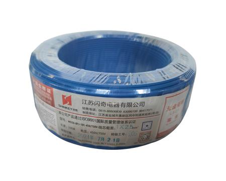 山东耐热105℃无卤低烟阻燃交联聚烯烃绝缘电缆