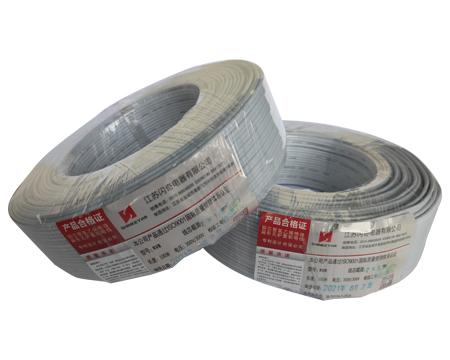铜芯聚氯乙烯绝缘扁形无护套软电线