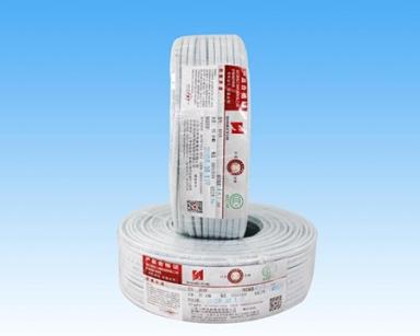 铜芯聚氯乙烯绝缘聚氯乙烯护套扁形电缆