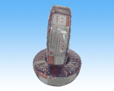 山东耐热105℃无卤低烟阻燃交联聚烯烃绝缘绞形连接用软电线WDB-RVS-2×0.75