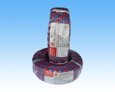 山东铜芯聚氯乙烯绝缘绝缘绞形连接用软电线RVS 2×0.5